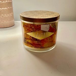 Leaves Bath and Body Works Candle